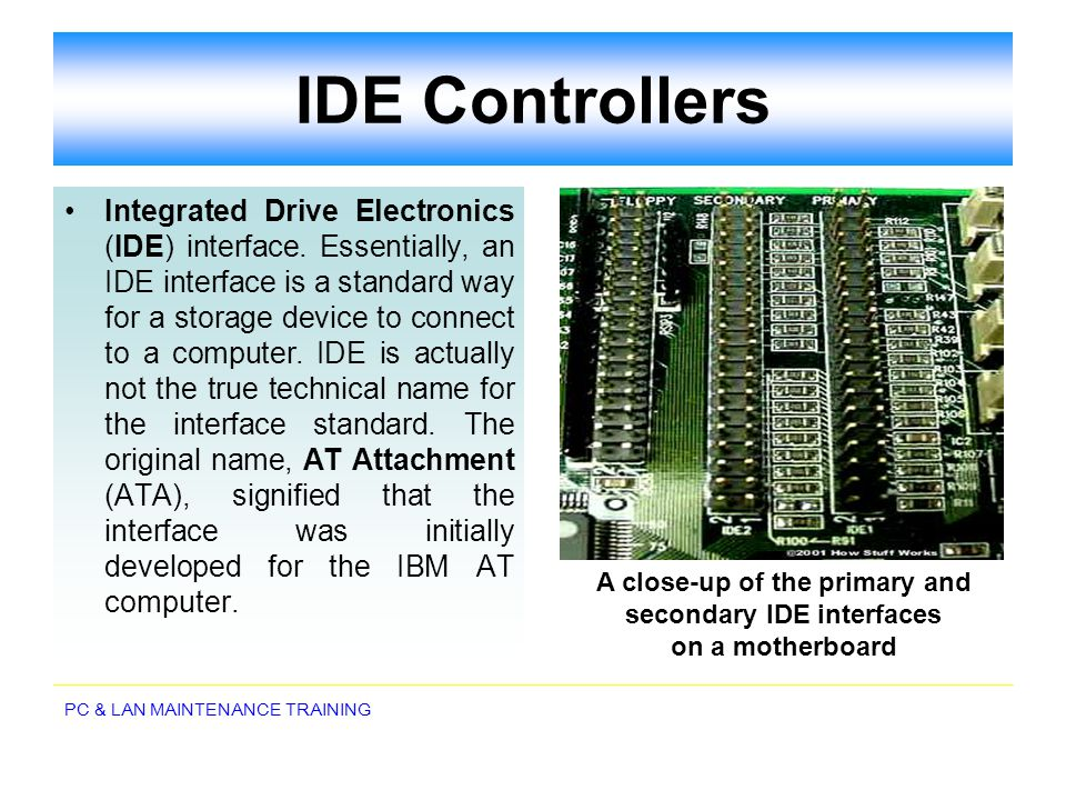 IDE Controllers