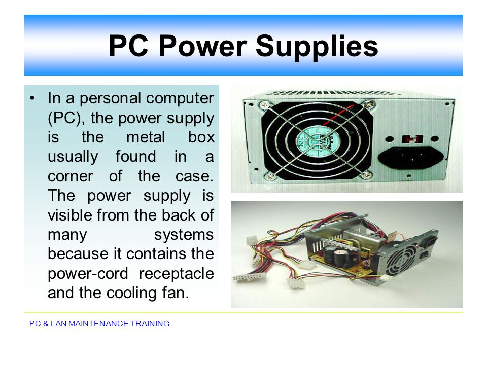 PC Power Supplies