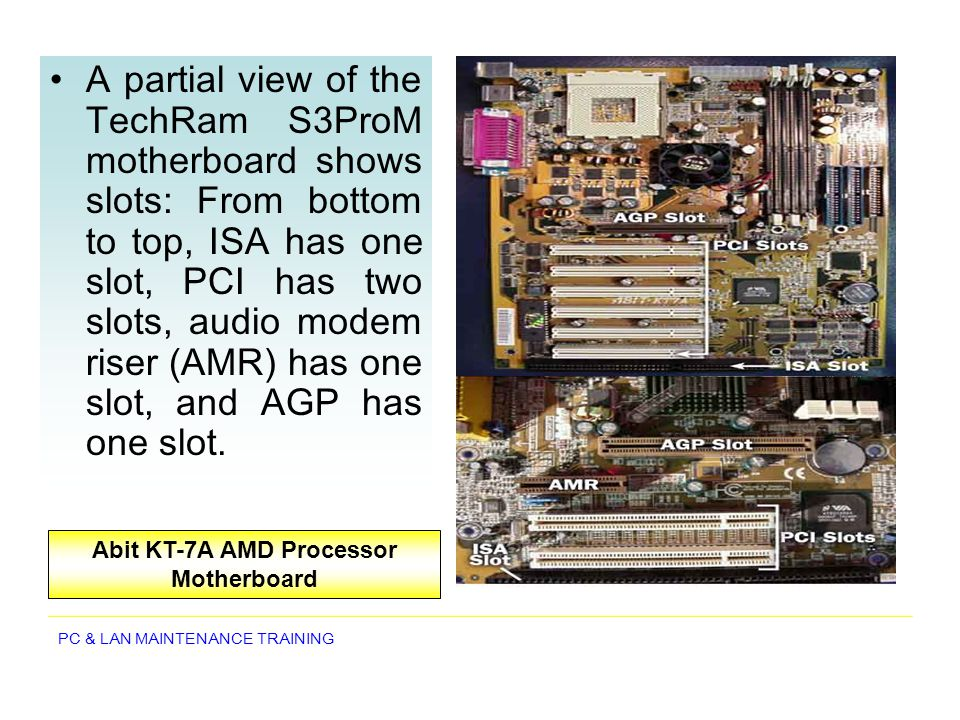 Abit KT-7A AMD Processor Motherboard