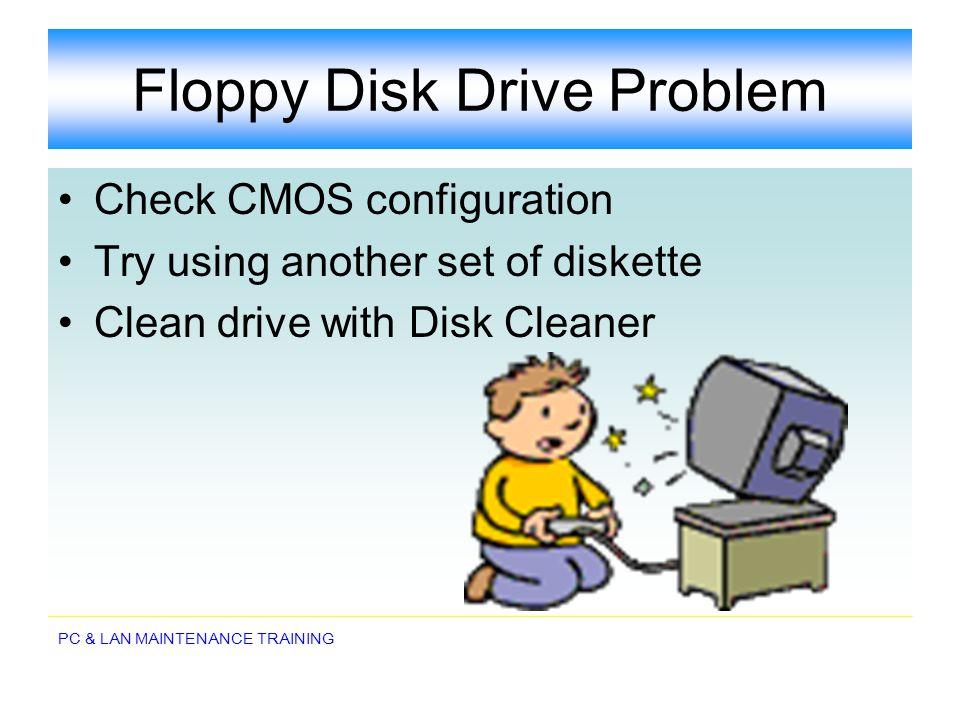 Floppy Disk Drive Problem