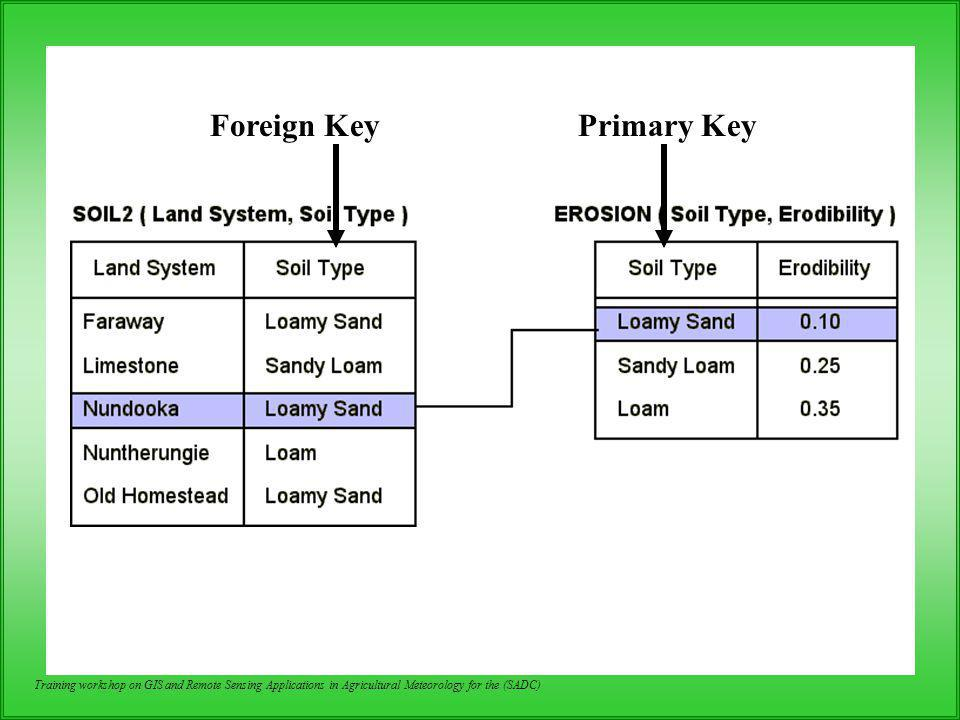 Foreign Key Primary Key