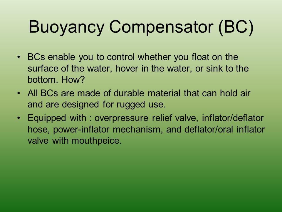 Buoyancy Compensator (BC)