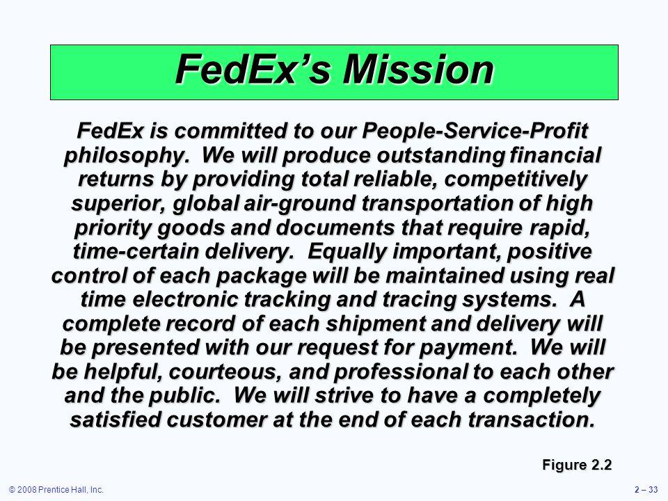 FedEx's Mission