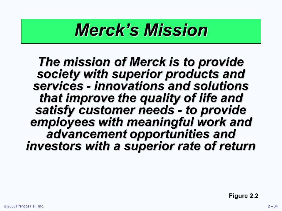 Merck's Mission