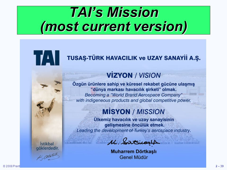 TAI's Mission (most current version)