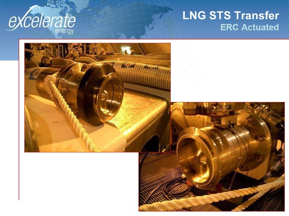 LNG STS Transfer ERC Actuated