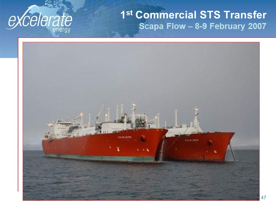 1st Commercial STS Transfer Scapa Flow – 8-9 February 2007
