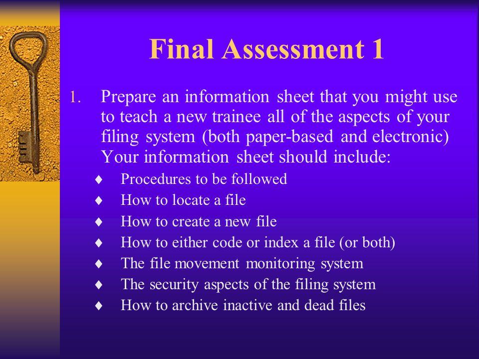 Final Assessment 1