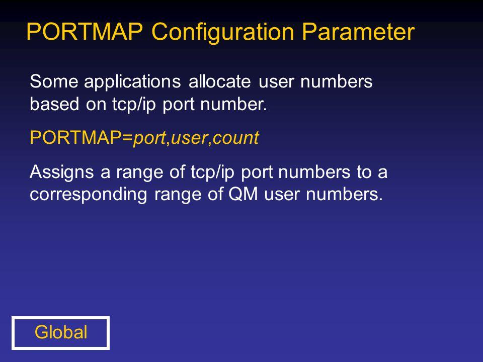 PORTMAP Configuration Parameter