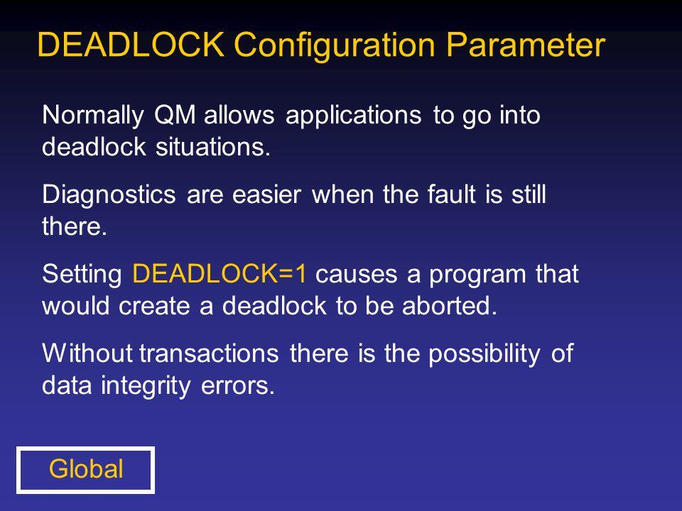 DEADLOCK Configuration Parameter