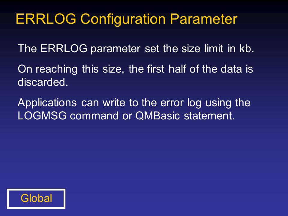ERRLOG Configuration Parameter