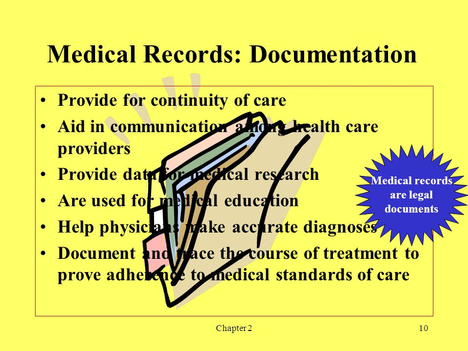 Medical Records: Documentation