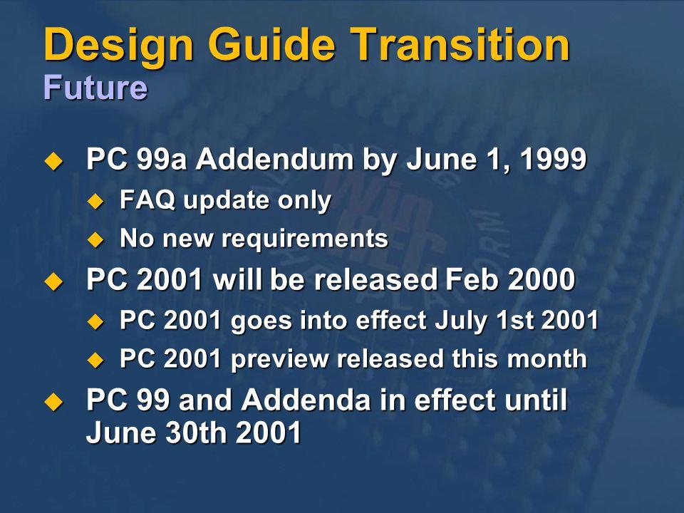 Design Guide Transition Future