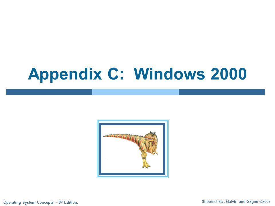 Appendix C: Windows 2000