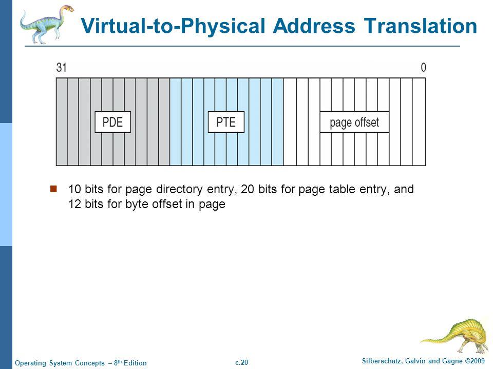 Virtual-to-Physical Address Translation