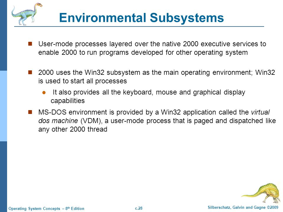 Environmental Subsystems