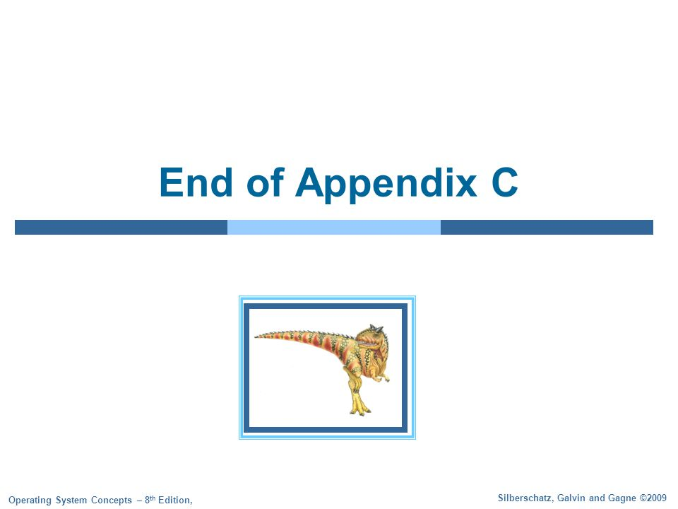 End of Appendix C
