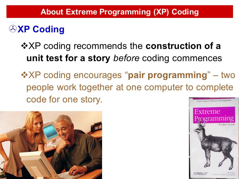 About Extreme Programming (XP) Coding