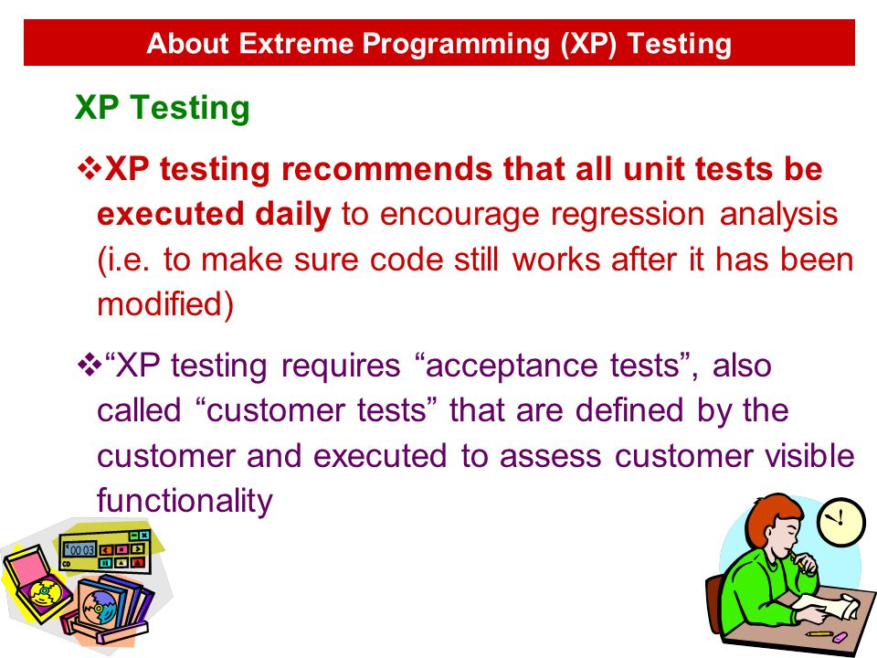 About Extreme Programming (XP) Testing