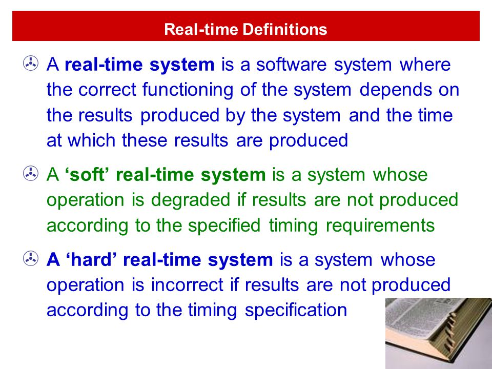 Real-time Definitions