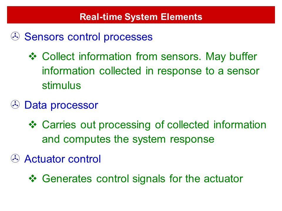 Real-time System Elements
