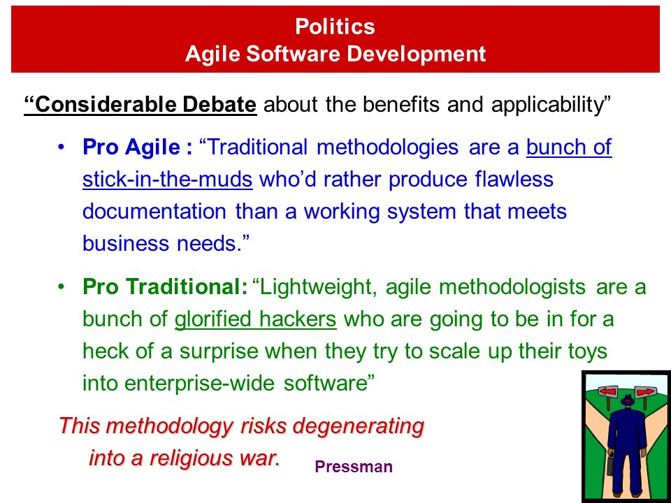 Politics Agile Software Development