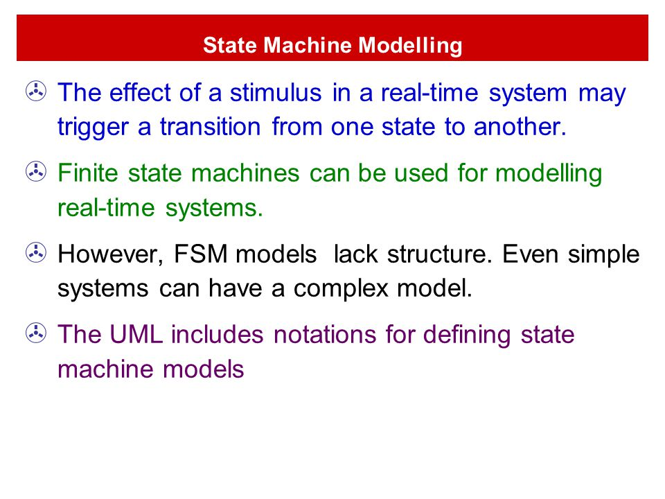 State Machine Modelling