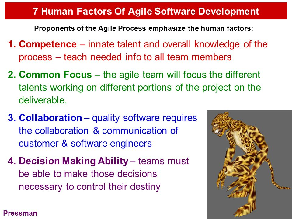 7 Human Factors Of Agile Software Development