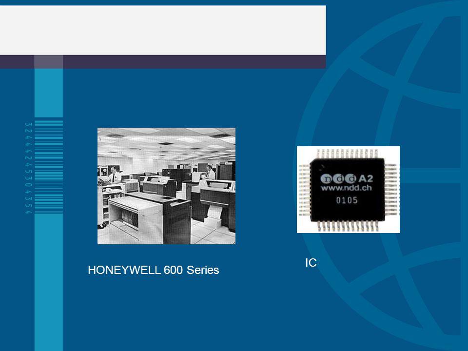 IC HONEYWELL 600 Series