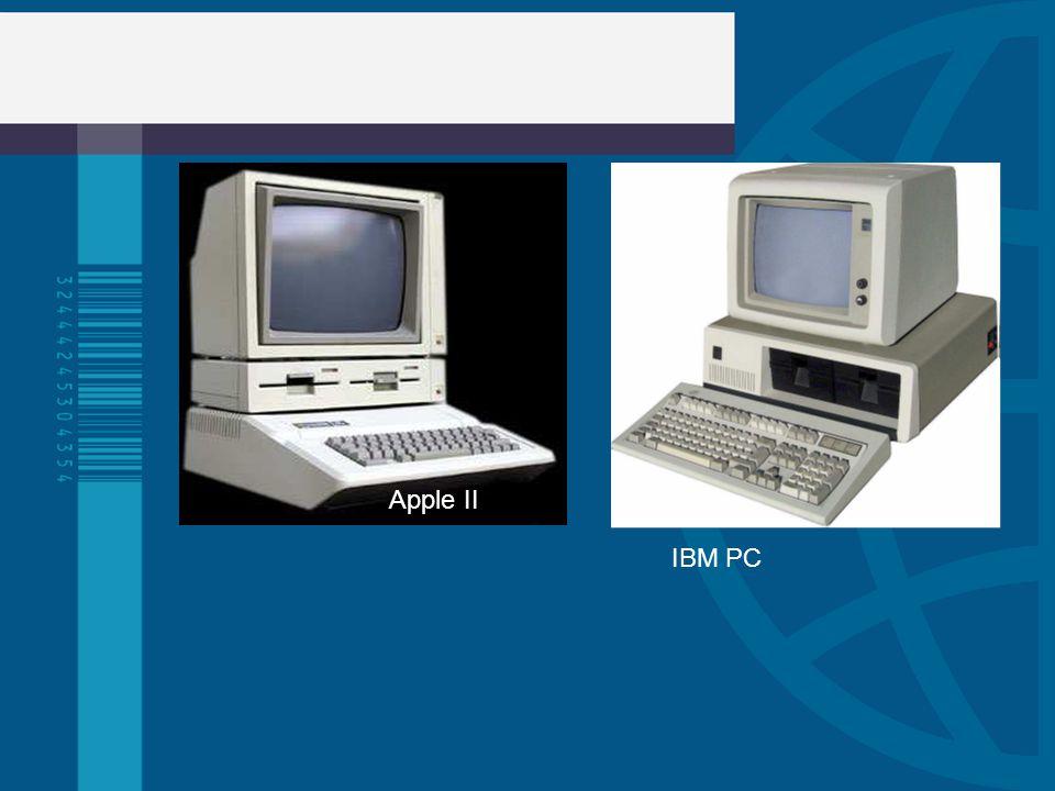 Apple II IBM PC