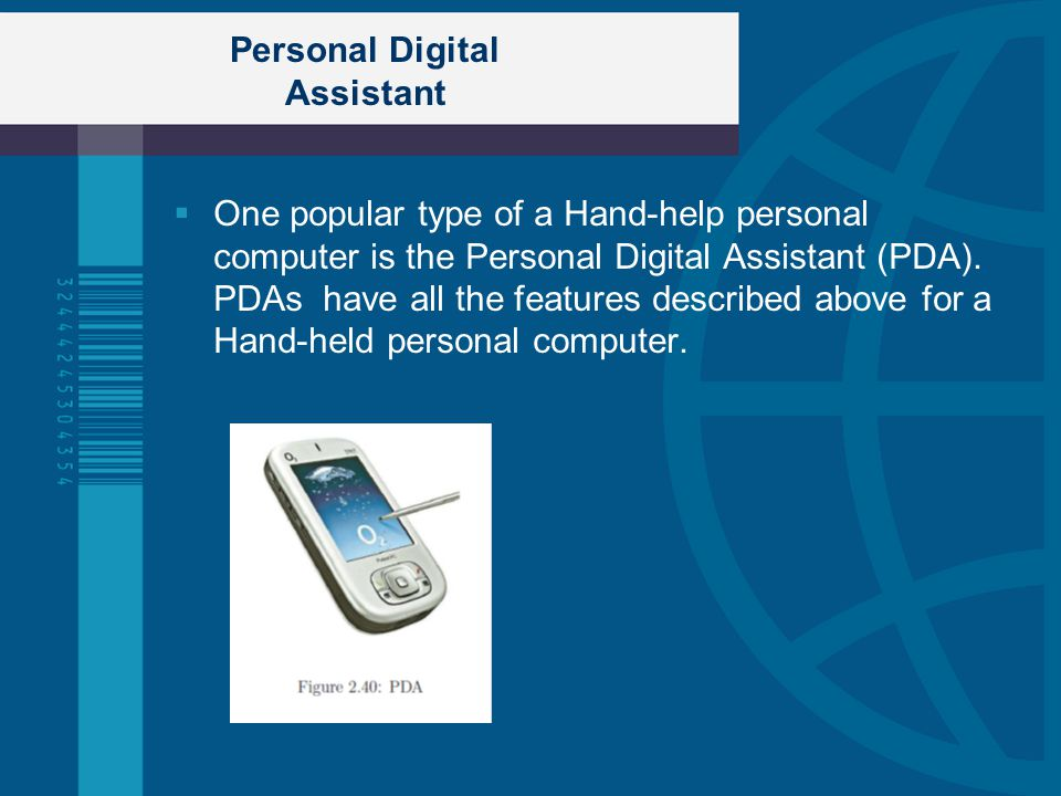 Personal Digital Assistant