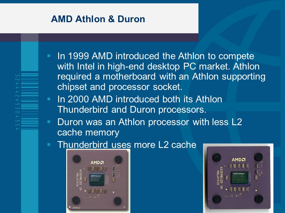 AMD Athlon & Duron