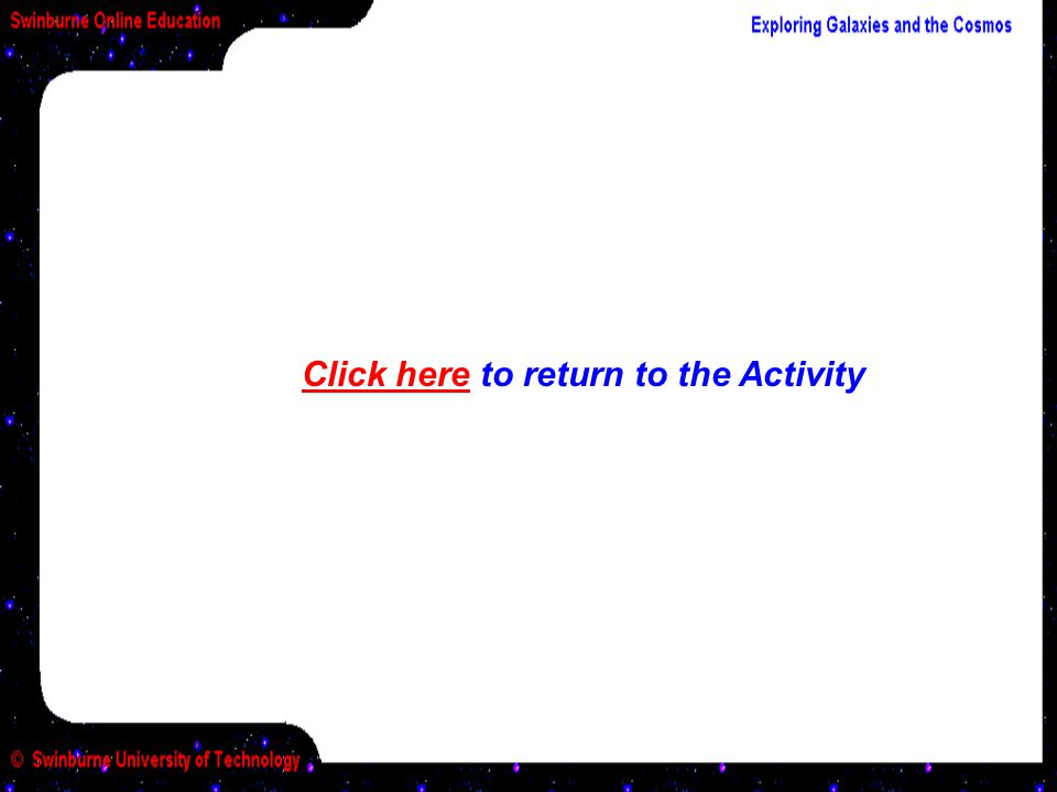 Click here to return to the Activity