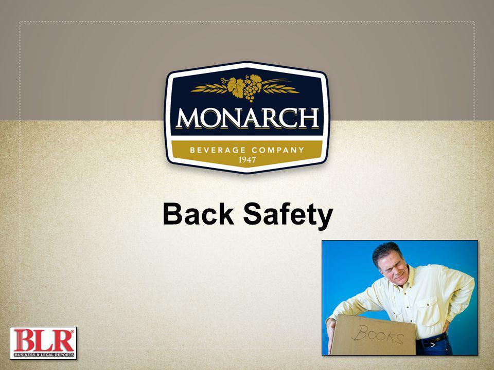 Back Safety Slide Show Notes