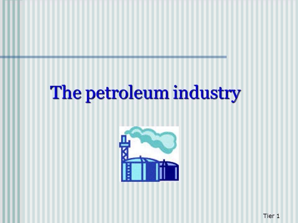 The petroleum industry