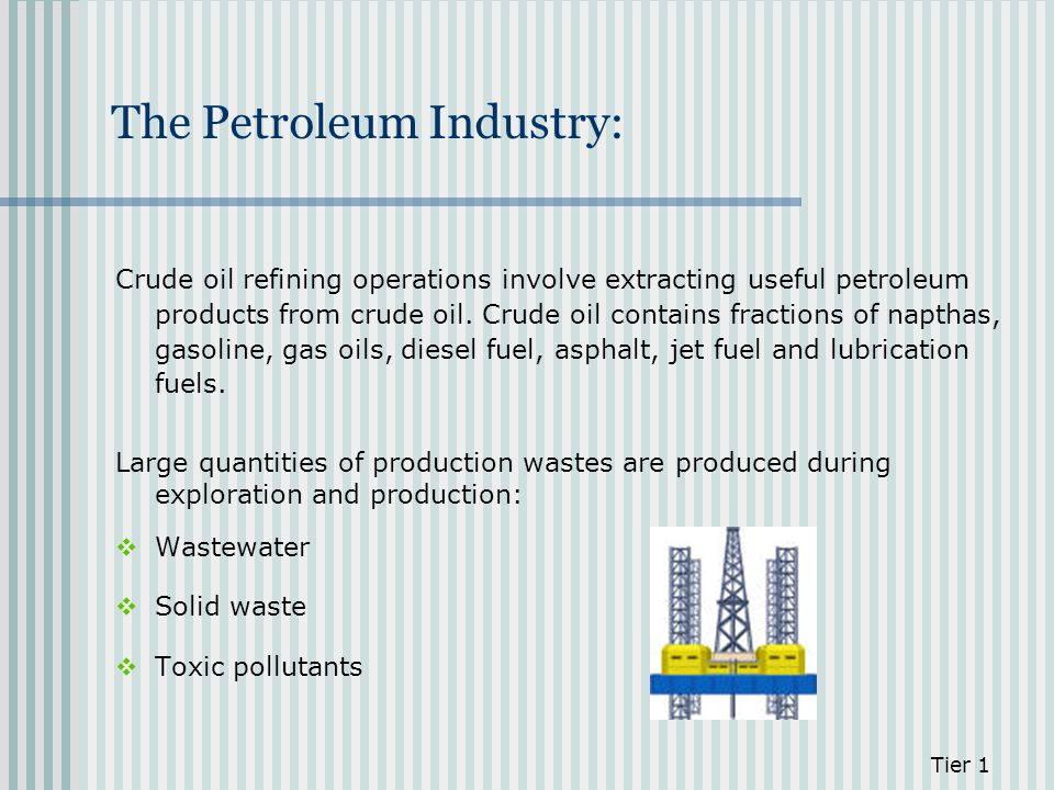 The Petroleum Industry: