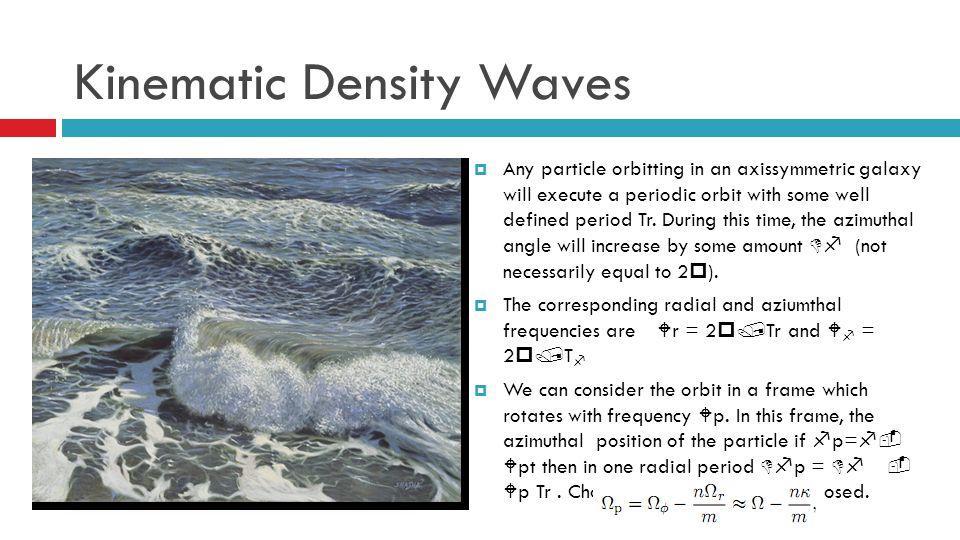 Kinematic Density Waves