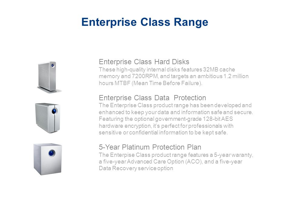 Enterprise Class Range