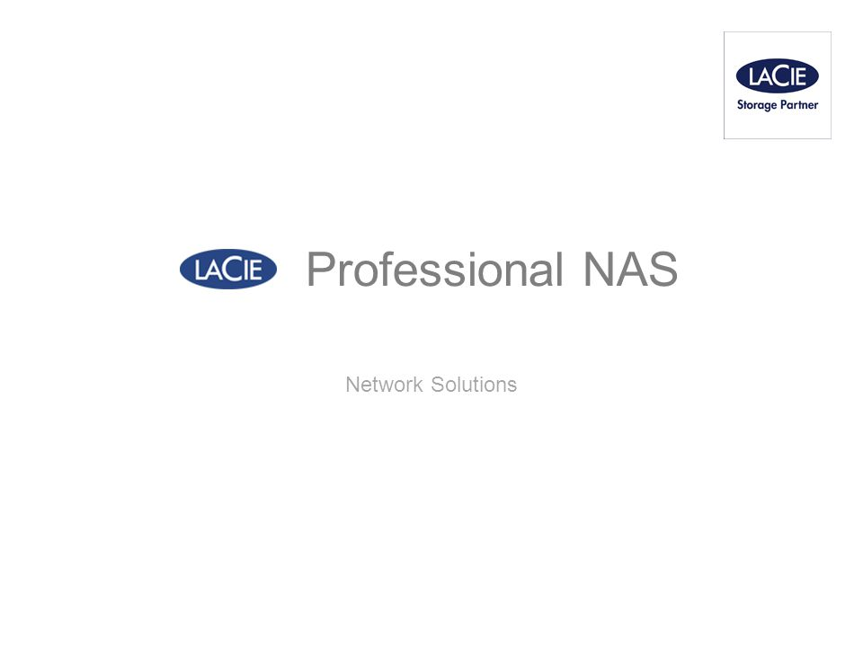 Professional NAS Network Solutions