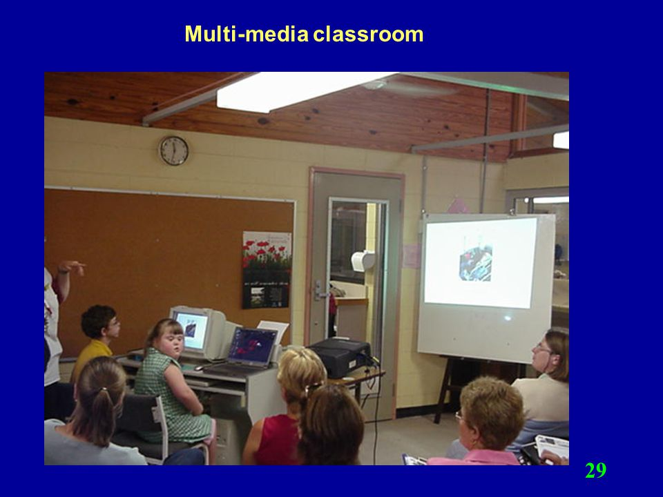 Multi-media classroom