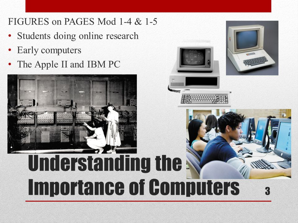 Understanding the Importance of Computers