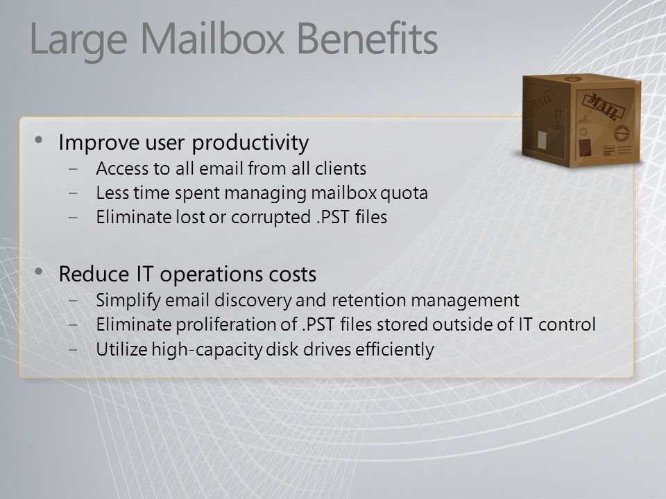 Large Mailbox Benefits