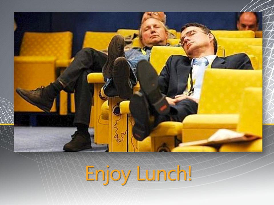 3/31/2017 10:57 PM Enjoy Lunch!