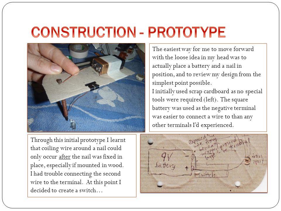 CONSTRUCTION - PROTOTYPE