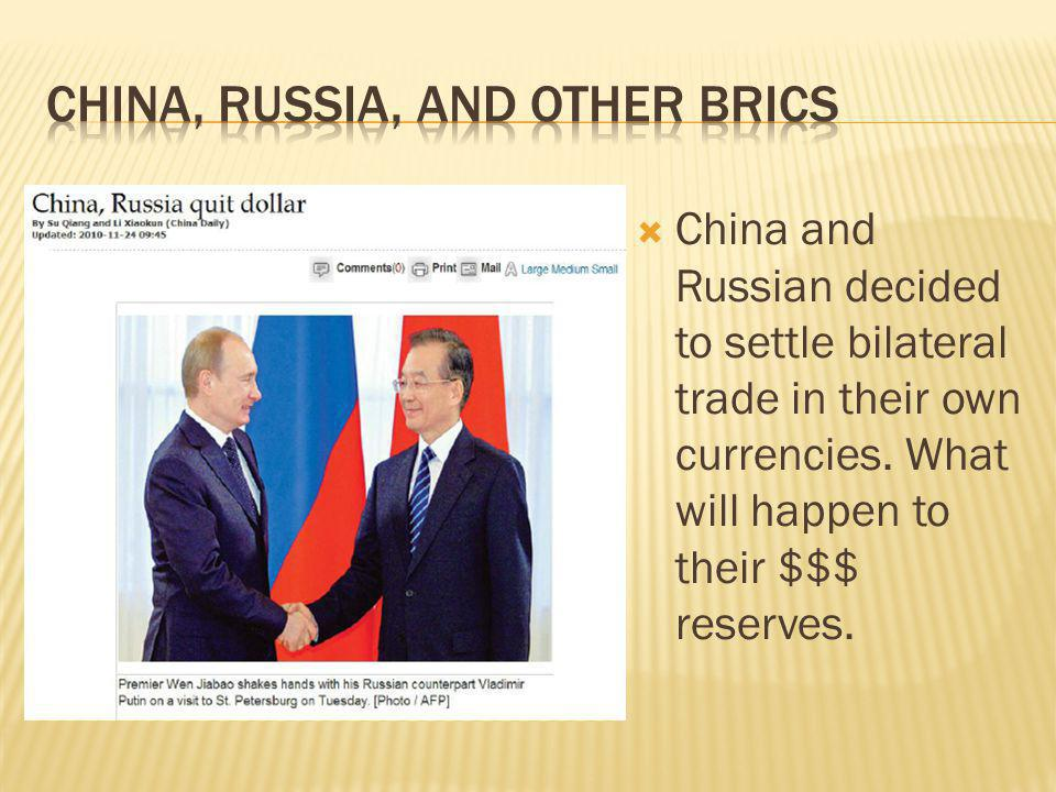 China, russia, and other brics