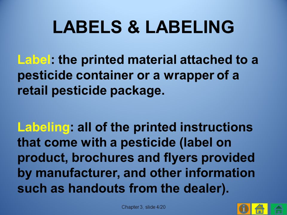LABELS & LABELING