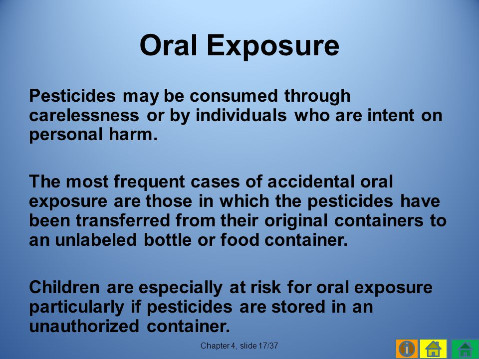 Oral Exposure