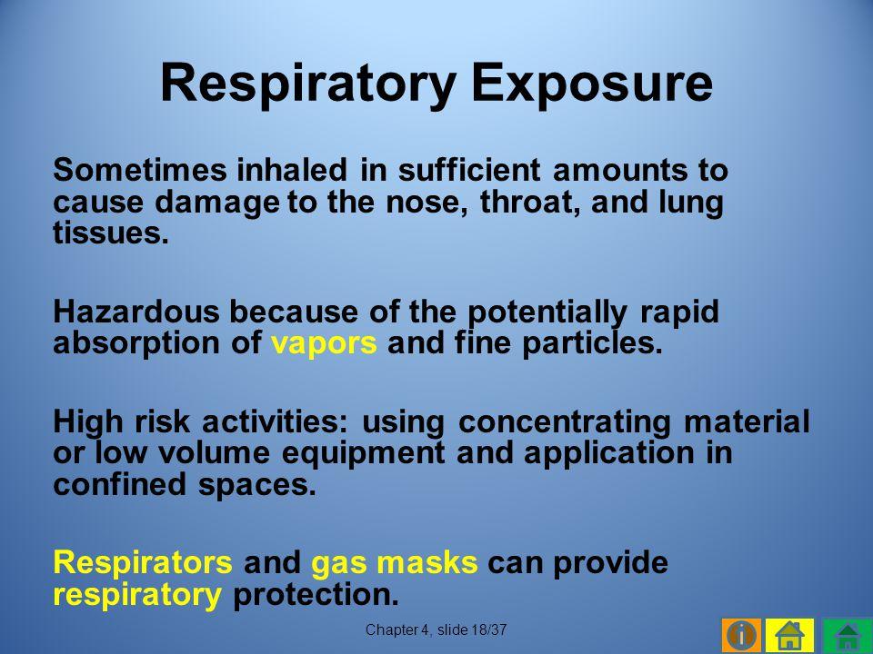 Respiratory Exposure