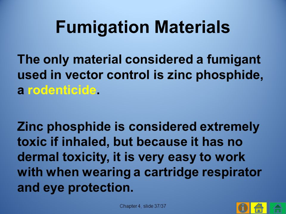 Fumigation Materials