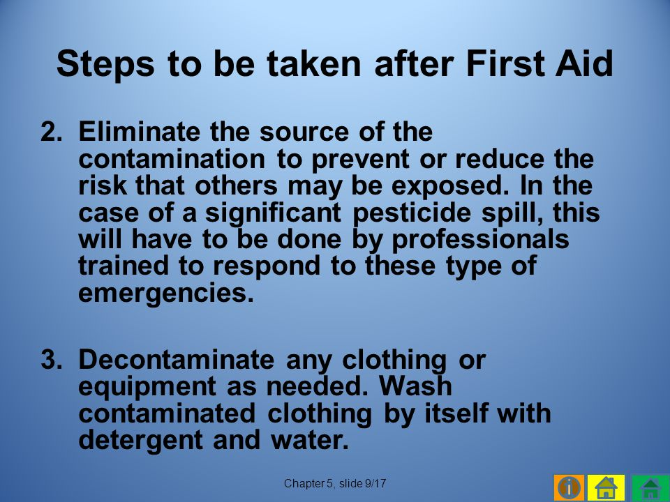 Steps to be taken after First Aid